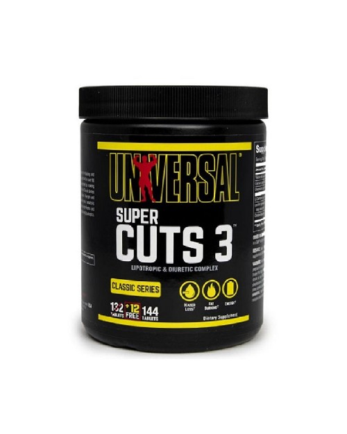 Universal Nutrition Super Cuts 3 144 ταμπλέτες