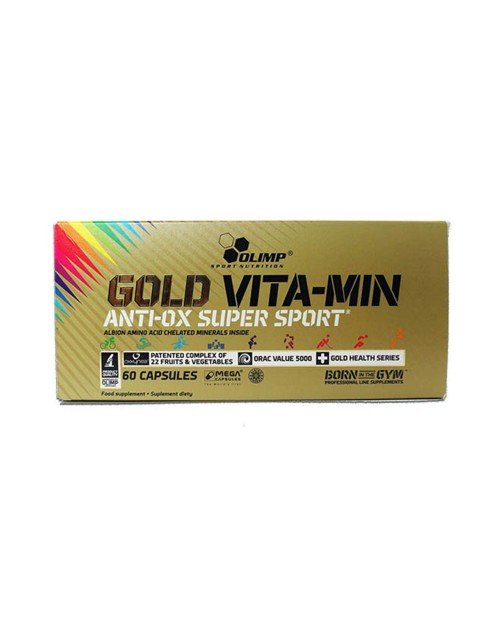 Olimp Gold Vitamin Andiox Super Sport 60 Κάψουλες