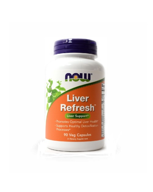 Now Liver Refresh 90 Κάψουλες
