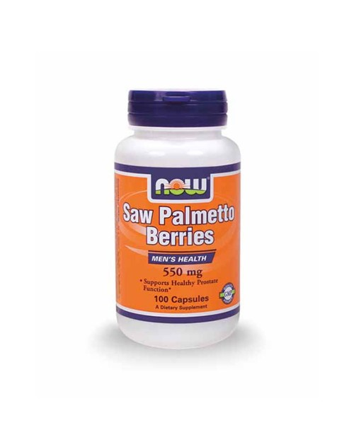 Now Saw Palmetto 550Mg 100 Κάψουλες
