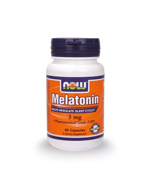 Now Melatonine 3Mg 60 Κάψουλες