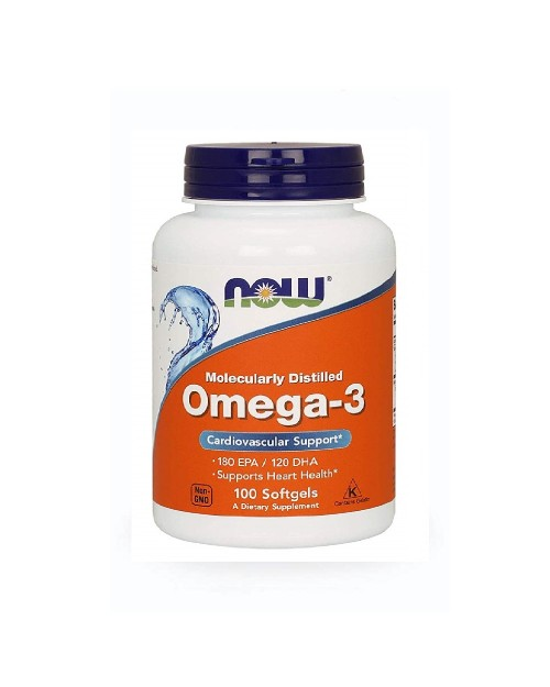 Now Omega 3 1000Mg 100 Μαλακές Κάψουλες