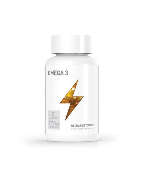 Battery Nutrition Omega 3 90 Caps
