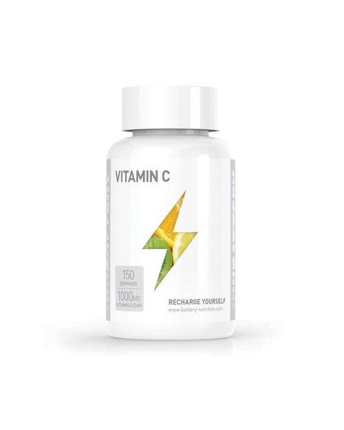 Battery nutrition Vitamin C 1000mg 150 Caps