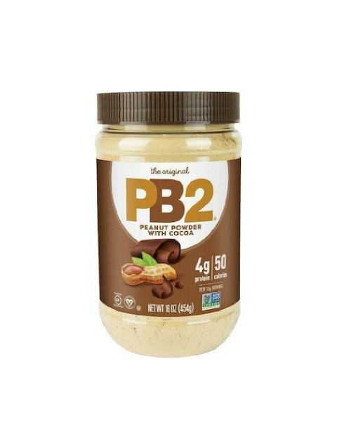 Pb2 Powdered Peanut Butter With Cocoa 454gr