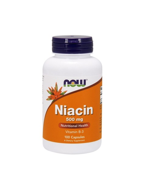 Now Flush Free Niacin 500mg 90 Vcaps