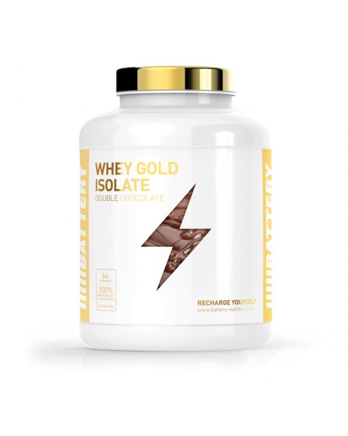 Battery Nutrition Whey Gold Isolate 600gr