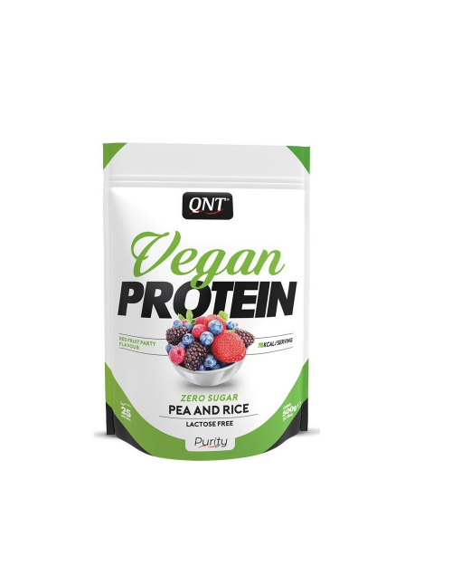 Qnt Vegan Protein Red Fruit Party 500gr