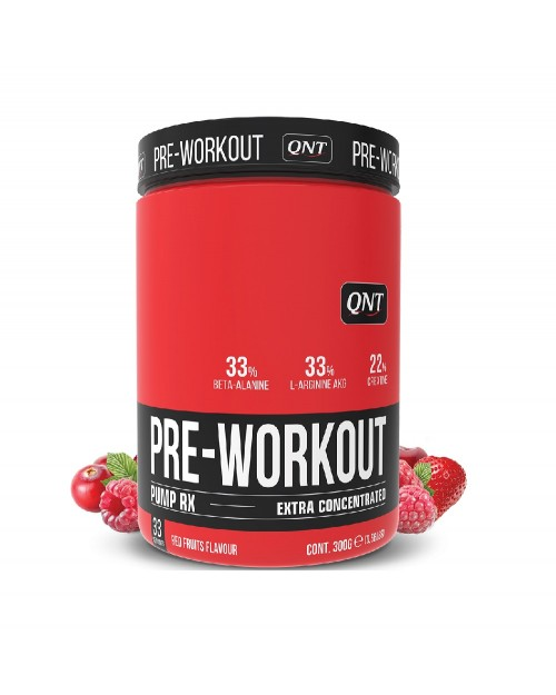 QNT Pump RX Pre-Workout Extra Concentrated 300gr Red Fruits